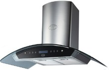 High Quality Wall Mounted Tempered Glass Chimney Hood, Range hoods