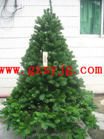 Shengyuan hand-made artificial christmas ornament tree / christmas decoration plant for export