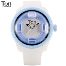 Unisex Water Proof Japan Movement Quartz Sports Silicone Jelly Watch