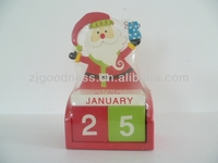 HOT SALE WOODEN CALENDAR TABLE DECORATION