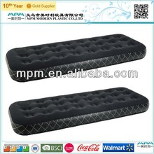 High Quality Comfort Flocked inflatable travel air bed