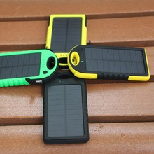 High quality rain-proof solar panels power bank with cheap price