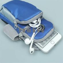 Fashion Mobile Phone Arm Running Equipment Armbands Wrist Bag Outdoor Sport Headphone Jack Cases