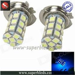 car led fog light 5050smd 27leds h7 led canbus