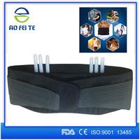 Waist Lower Back Belt Support Wrap Brace Lumbar Disc Muscles Strain Belt for Back Support Gym Work Out