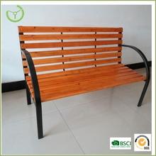 cheap cast iron wood slats park garden bench