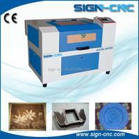 Lowest price laser engraving cutting machine/wood acrylic granite laser engraver cutter SIGN CNC 4030