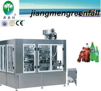 automatic 3 in 1 carbonated beverage processing machinery /beverages filling machine/price /production line