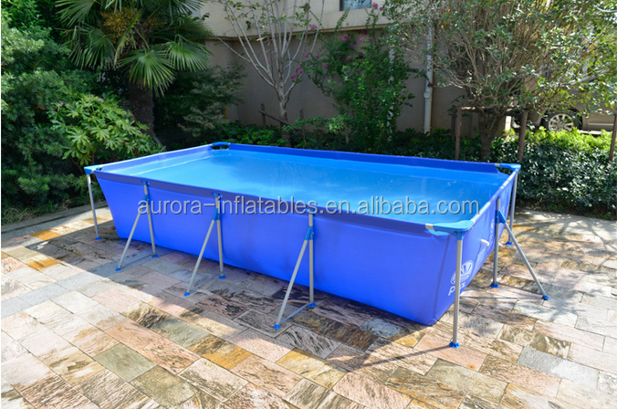 2015 Best Popular Portable Swimming Pools With Metal Frame For Kids Buy Metal Frame Swimming