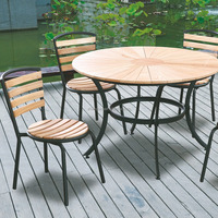 Modern ashwood outdoor popular jardin outdoor garden furniture