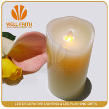 For party moving flame led candle