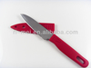 China manufacturer ceramic kitchen knife with sheath