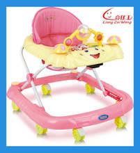 Rolling big inflatable baby walker with music & light/Blue/Red/Green (Model:130-8)