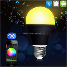 WiFi air freshener negative ion activate oxygen led bulb 9w warm white play by SmartPhone