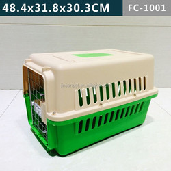 4 sides ventilation plastic Pet cage for dogs & cats