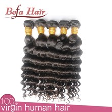 No Shedding No Tangle Unprocessed Virgin Weft Double Strand Hair
