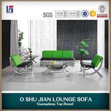 China Wholesale Specials Modern Leather Office/Hotel Sofa Set SJ688