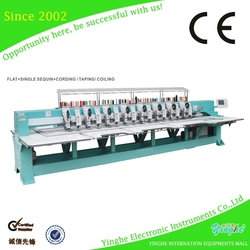 With USB interface baseball / hat embroidery machine