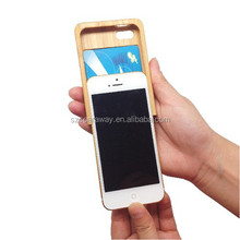 High quality Bamboo wood mobile phone protection shell custom case for iphone