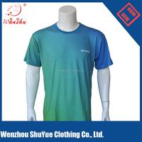 160GSM polycotton Lycra full printing tshirt, round neck promotional tshirt