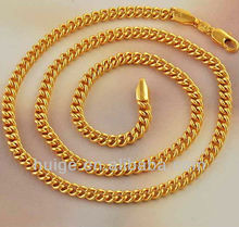 Deluxe Real Gold Filled Women's Chain Necklace