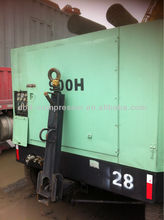 Used Sullair Diesel Driven Portable Screw Air Compressor