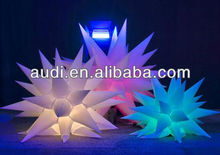 grandes estrellas inflables decoración