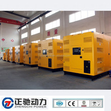 Low noise and low price diesel generator price list with Cummins engine