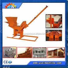 factory supply professional mud clay brick machine/Manual clay brick machine/Small clay brick making machine
