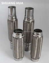 different diamter, length and structure of stainless steel exhaust flexible pipe