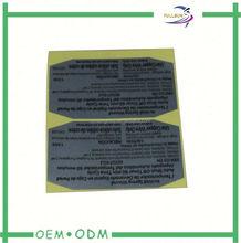 thermal transfer self adhesive labels art paper