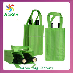 Hot Sale High Quality Non Woven 6 Bottle Wine Tote Bag