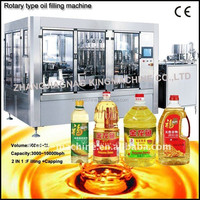 Automatic Rotary Oil Filling And Capping / Packing Machine