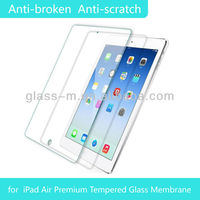 Anti-glare Film For Ipad Air Tempered Glass Screen Protective Film With 9H Hardness