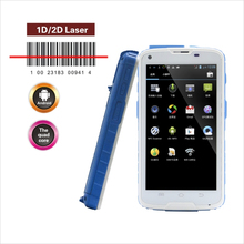 Cilicorobust cell phone used for HF UHF rfid reader, barcode scanner can be also selected