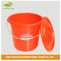 Round Plastic Drum With Lids Food Grade