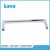 Chrome Plated Round Single Stainless Steel Towel Rails