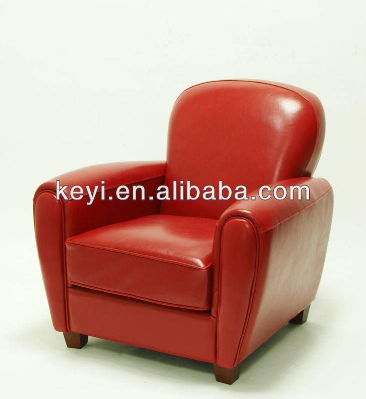 Home Furniture Use Single Seat Leather Sofa Chair Leather