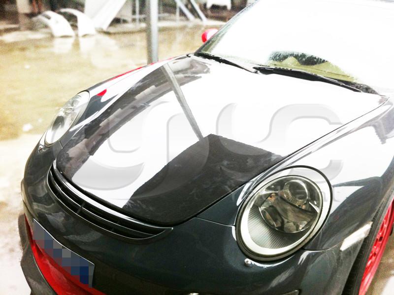 trade assurance carbon fiber hood bonnet fit for 2005 2011 porsche 987 boxster cayman 911 997. Black Bedroom Furniture Sets. Home Design Ideas