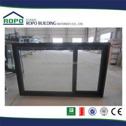 2015 China made black frame aluminium windows in china