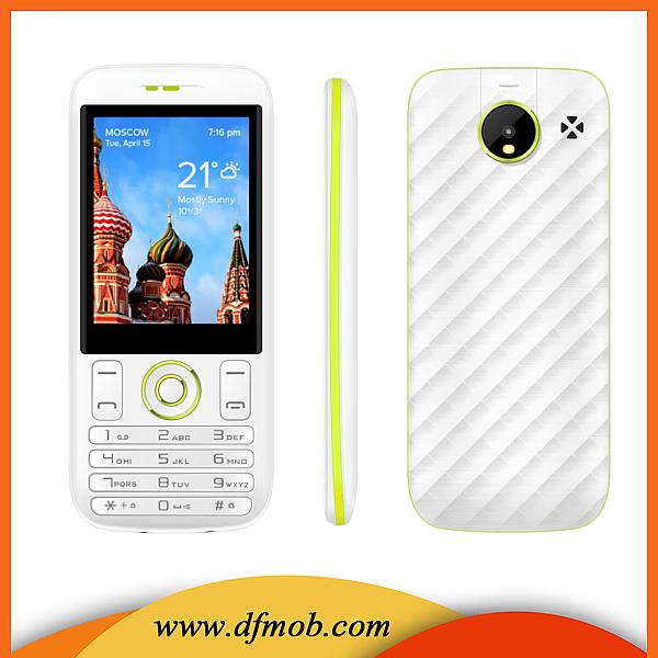 2.8 INCH Quad Band Dual SIM GSM GPRS Máy Ảnh Big Điện Thoại Di Động Loa Tại Dubai M5