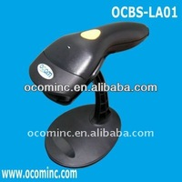 OCBS-LA01-P-B PS/2 Black Auto-Induction Supermarket POS Laser Handfree Barcode Reader