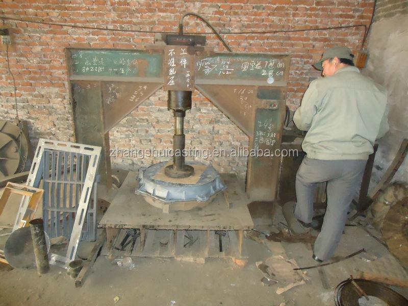 Light Duty EN124 A15 Ductile Iron GGG50 Manhole Cover