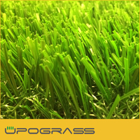 S blade artificial grass for garden