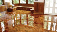 non-slip high gloss laminate flooring basketball flooring