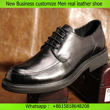 new business-casual first layer real leather shoes customize men shoes