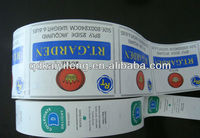 Printed Garment Brand Labels