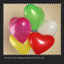 12inch hebei Helium Quality cheap heart shaped balloons