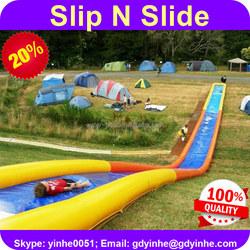2016 commercial giant long inflatable slip n slide