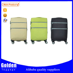 100% fabric china cheap travel bags, beautiful luggage set, promotional professional trolley luggage set